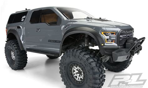 Pro-Line 3509-00 2017 Ford F-150 Raptor Clear Body for TRX-4
