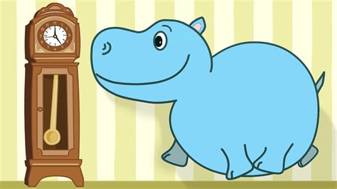 Hickory Dickory Dock - Children's Song with Lyrics - YouTube