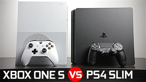 Playstation 4 Slim vs Xbox One S - Battle of The Compact
