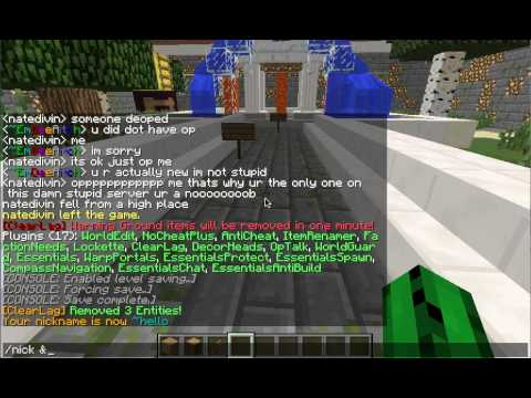 Minecraft - tutorial - how to type in color and color y