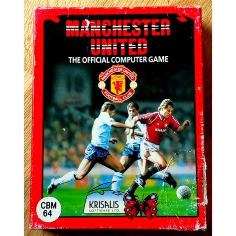 Manchester United: The Official Computer Game (Krisalis
