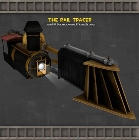The Rail Tracer (Team Fortress 2 > Skins > Pyro