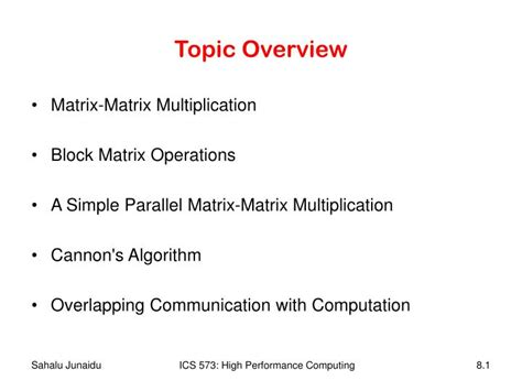 PPT - Topic Overview PowerPoint Presentation, free