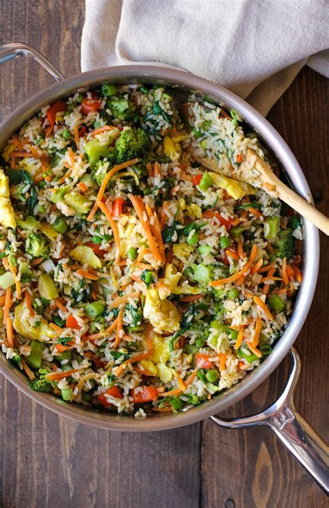 Vegetable Fried Rice - The Roasted Root