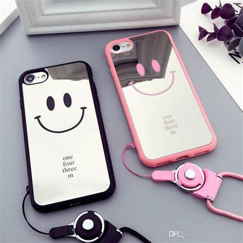 Smile Face Nice Letters Printed Anti Drop Phone Case