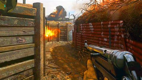 CALL OF DUTY WW2 MP40 SMG TRENCH MULTIPLAYER GAMEPLAY