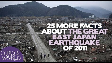 25 More Facts About the Japan Earthquake and Tsunami of