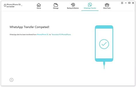WhatsApp Transfer Between iPhone & Android - iCareFone