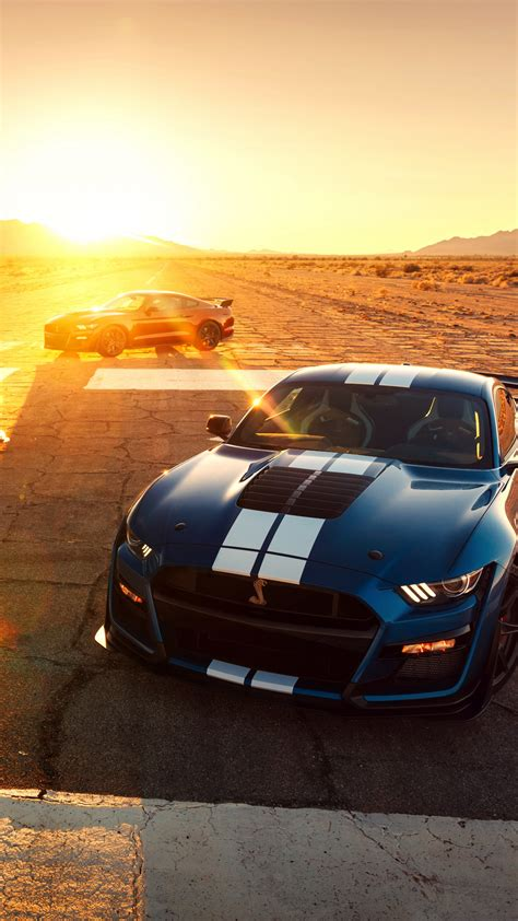 Wallpaper Ford Mustang Shelby GT500, 2020 Cars, 2019