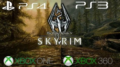 Skyrim Special Edition On PS4/XB1 Will Not Support PS3