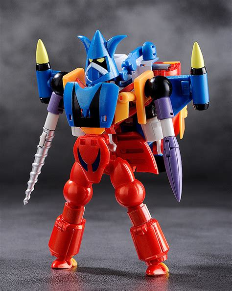 [New Articulated Figure] Freeing's Getter Robo G ready to