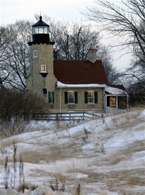 White River Lighthouse, Michigan at Lighthousefriends