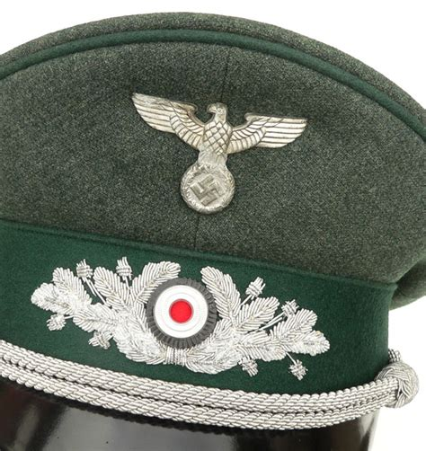 Archive: WH (Heer) Forestry Official's Visor Cap