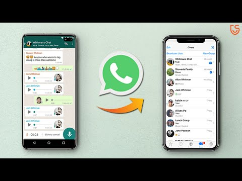How to Transfer WhatsApp from iPhone to Huawei Mate 20(Pro