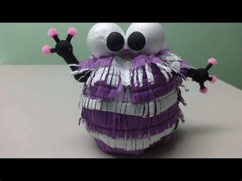 DIY Crafts: Purple Monster - Recycled Bottles Crafts - YouTube