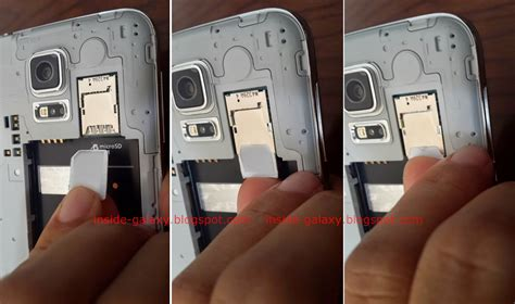 Samsung Galaxy S5: How to Insert or Remove a Micro SIM Card