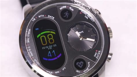 Factory Direct Sports Smart Watch T3 Dual Time Zone Watch
