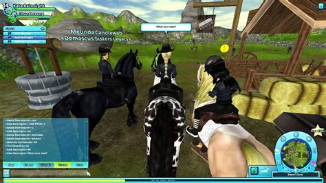 Star Stable Online- Racing with more friends! - YouTube