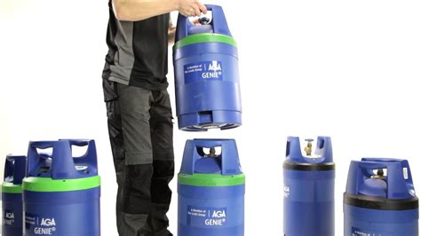 GENIE gas cylinder from AGA - Experience the magic! - YouTube