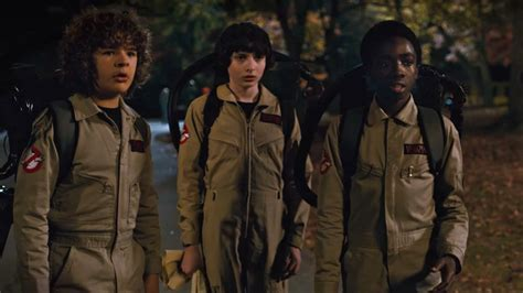 The Stranger Things Kids Become The Junior Ghostbusters In