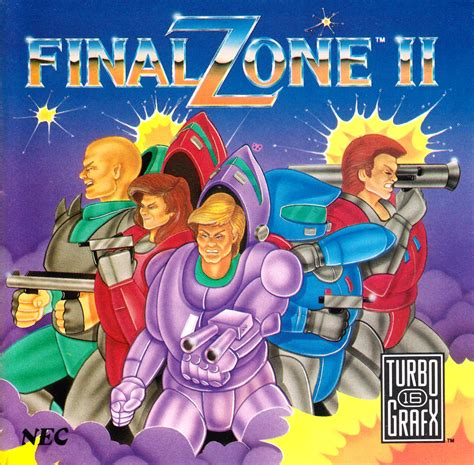 Final Zone II - The PC Engine Software Bible