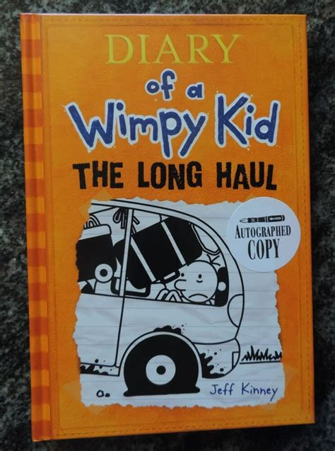 Jeff Kinney Diary Of A Wimpy Kid The Long Haul (2014