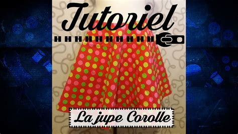 Couture - Comment tracer et couper une Jupe Corolle - YouTube