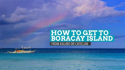 HOW TO GET TO BORACAY FROM KALIBO AIRPORT   The Poor