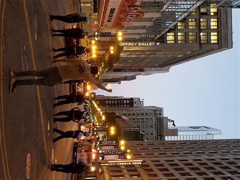 See What Chicago, Michigan Avenue Looks Like After Night