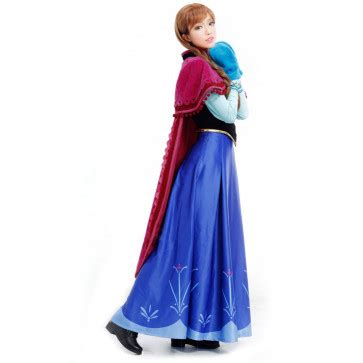 Disney Anna Frozen Complete Cosplay Costume For Adults