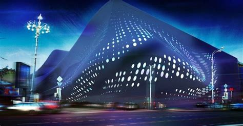 Studio Toggle's Dynamic LED Media Facade Changes the Face