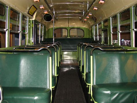 Rosa Parks Bus (Interior) | Do you know which seat Rosa