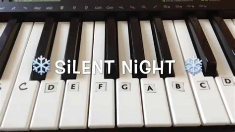 Silent Night | Easy Christmas Piano Tutorial (With Notes