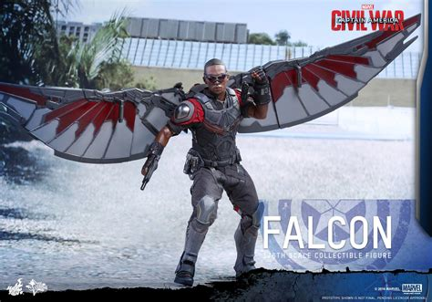 Captain America: Civil War - Falcon by Hot Toys - The