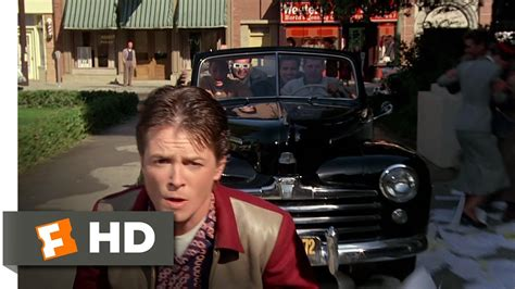 Back to the Future (7/10) Movie CLIP - Skateboard Chase