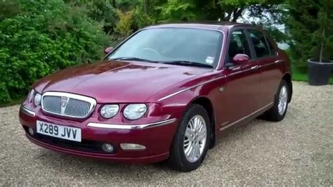 2001-X Rover 75 Club SE 4dr Only 32000 miles - YouTube