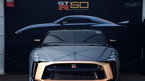 Nissan GT-R celebrates 50th anniversary with striking