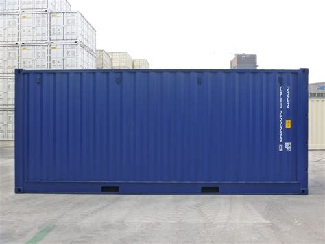 20´ container fuld sideåbning (open side) | Jysk Container
