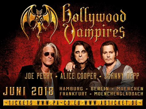 The Hollywood Vampires are back!!!