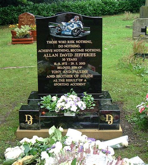 David Jefferies is killed during practice for the 2003