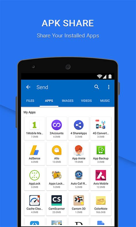 SHAREall- File Transfer, Share Android App - Free APK by