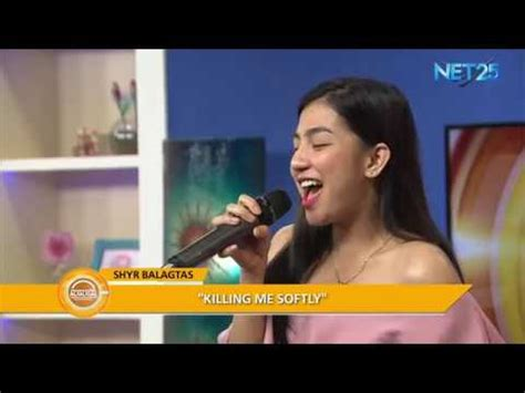 """Shyr Balagtas performs """"Killing Me Softly"""" (Fugees) in"""