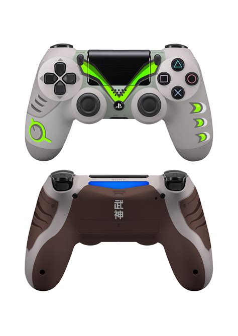 24 Overwatch Hero-Themed PS4 and Xbox One Controllers