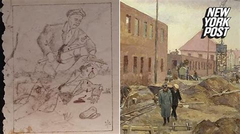 Art made in Auschwitz reveal the horrors inside the death
