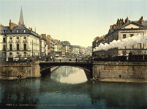File:Confluence of Erdre and Loire, Nantes, France, 1890s
