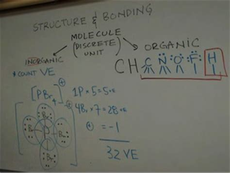 Drawing Lewis Dot Structures for Inorganic and Organic