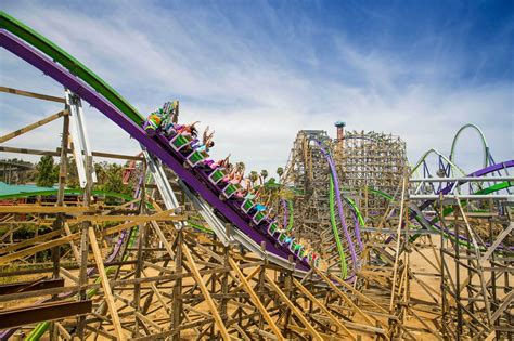Take a 360º ride on the all-new Joker roller coaster at