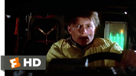 Back to the Future (3/10) Movie CLIP - Back in Time (1985