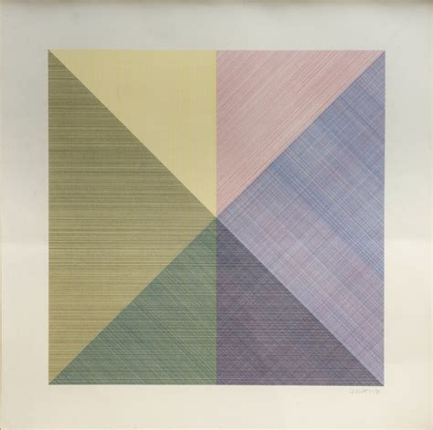 Sol LeWitt   Eight Squares With A Different Color In Each